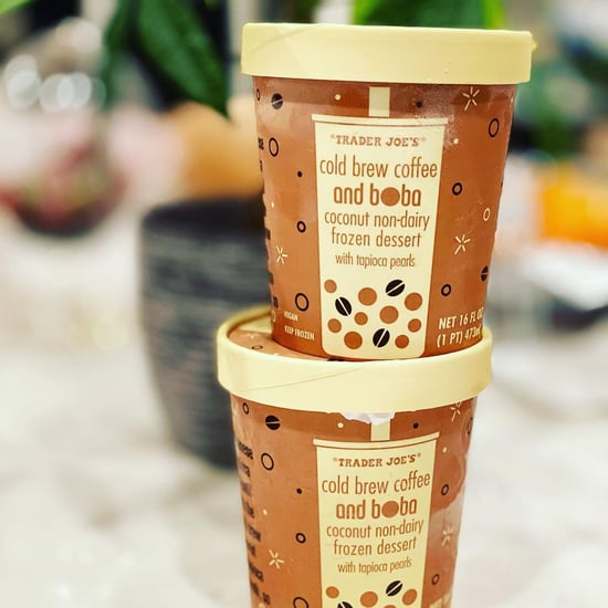 Trader Joe's Has New Cold Brew Boba Ice Cream