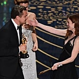 They were sweetly introduced to each other by Julianne Moore.