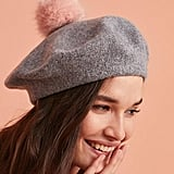 Helen Moore Frenchie Pom Beret