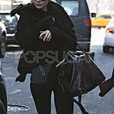 Gwyneth Paltrow Works Out in Black