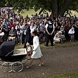 Princess Charlotte Christening Pictures