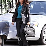 Sandra Bullock filmed The Heat.