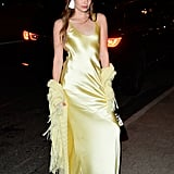 Kristine Froseth's Yellow Alejandra Alonso Rojas Dress