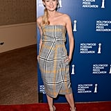 Diane Kruger smiled on the red carpet.