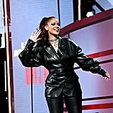 Rihanna made a surprise appearance at the BET Awards.
