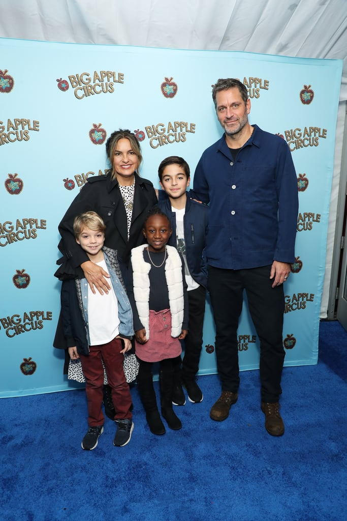 Despite the fact Mariska Hargitay spends her time fighting crime on screen as detective Olivia Benson in Law and Order: SVU, off camera she's raising the most adorable three kids with her husband, Younger star Peter Hermann. After getting married in 2004, the pair welcomed their first child in 2006. Mariska and Peter went on to adopt a daughter and another son in 2011. Unlike some other superprivate celebrities, Mariska and Peter are OK with bringing their children into the spotlight every now and again and share sweet photos of them all on social media. And who can blame them? All three are absolutely adorable! Read through to meet the kids and get a closer look at this sweet family of five.       Related:                                                                                                           Max Greenfield's Journey Through Homeschooling With His Daughter Is Hilarious