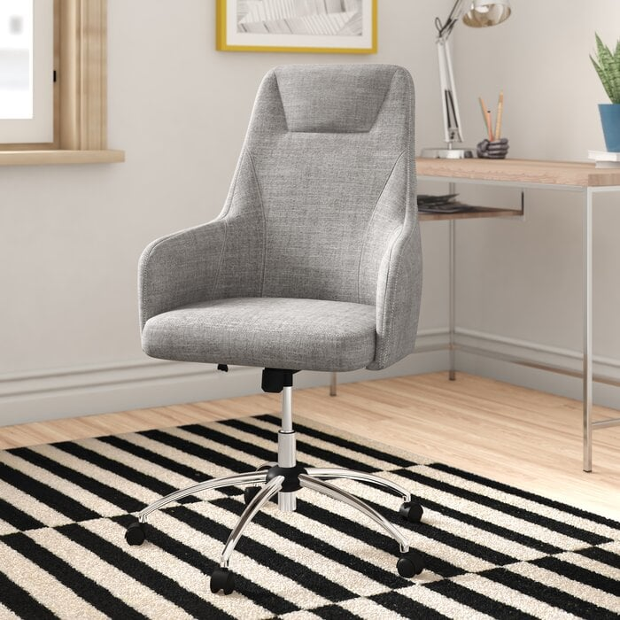 Cave Spring Comfy Executive Chair Best Home Office Furniture At Wayfair 2020 Popsugar Home Uk Photo 6