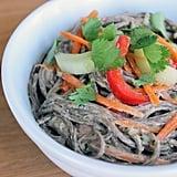 Peanut-Ginger Soba Noodle Salad