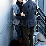 Pictures of Rachel McAdams Kissing Michael Sheen
