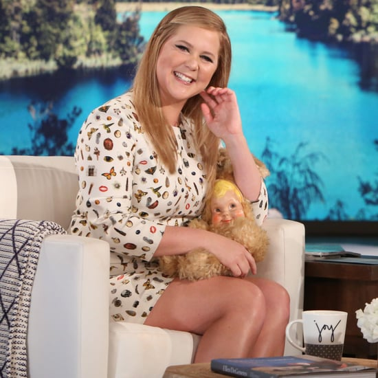 Amy Schumer Talking About Goldie Hawn on The Ellen Show 2016