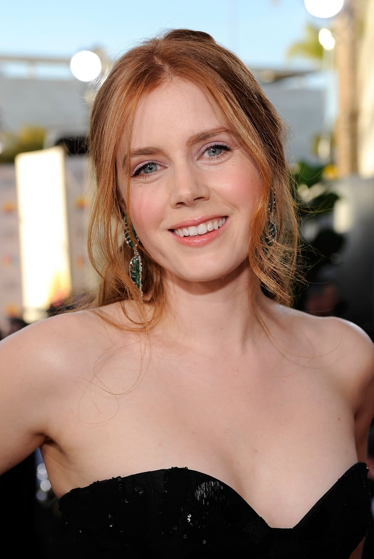 Then Amy Adams Celebrities At Golden Globes Now And