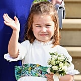 Meanwhile, Princess Charlotte Acted Like a Little Lady