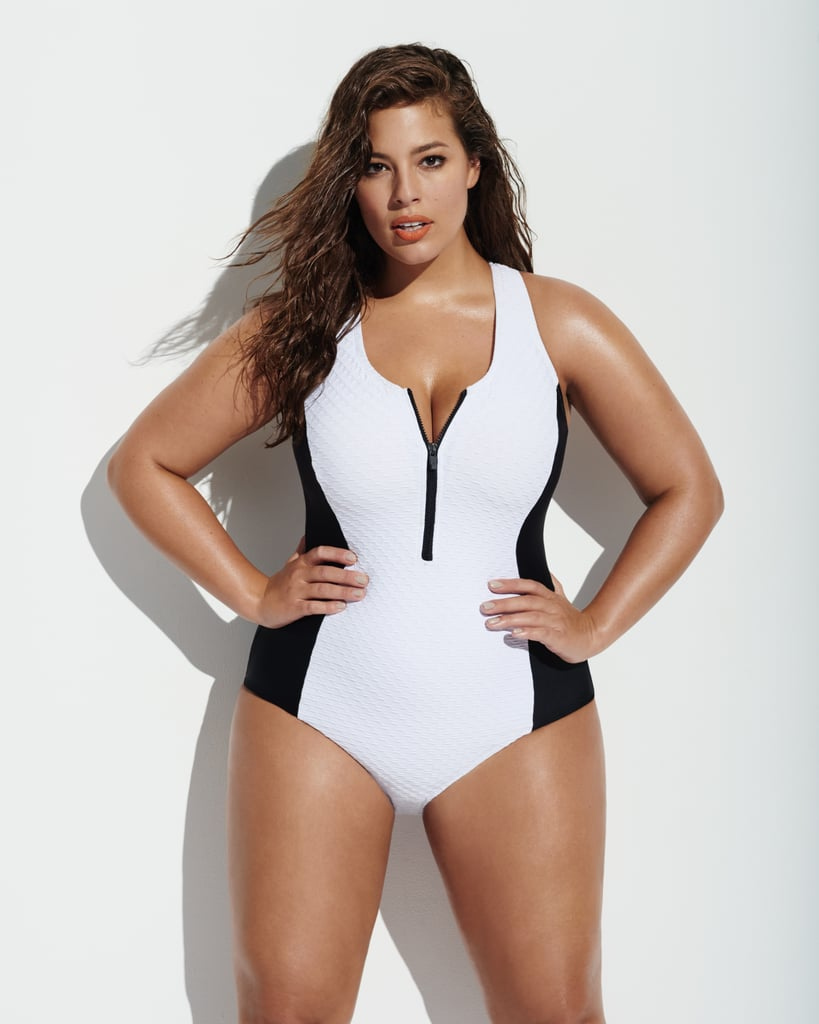 Forever 21 Plus Size Paneled One-Piece ($33)
