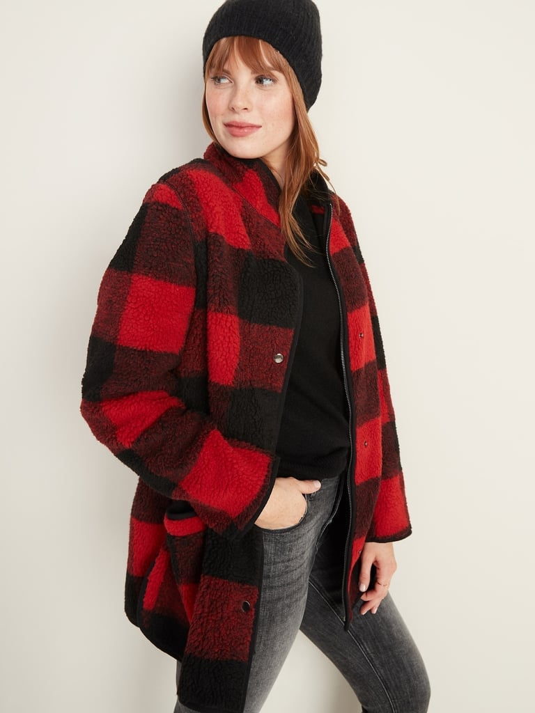 Best Plaid Coat For Women at Old Navy