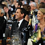 Steve Carell and his wife Nancy watched the SAGs.