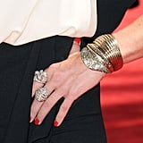 You may not have loved Lauren Graham's Yigal Azrouel number, but you can't deny how cool her jewels were.