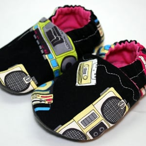 Boom Box Bedding For Baby
