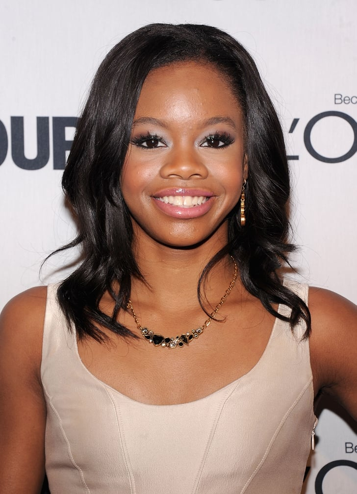 Gabby Douglas Hair And Makeup At Glamour Women Of The