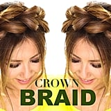 Pull-Through Crown Braid