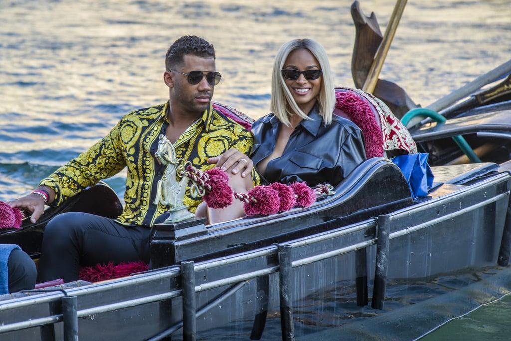 Ciara and Russell Wilson Take Italy Summer Holiday