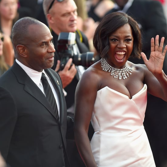 Viola Davis at the 2017 SAG Awards