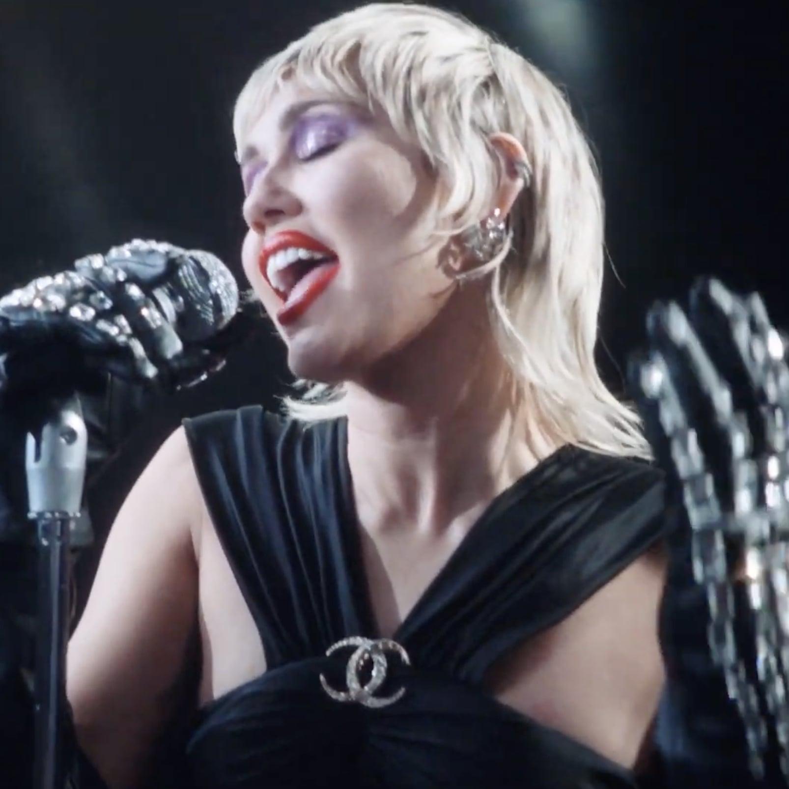 Watch Miley Cyrus In Midnight Sky Music Video Popsugar Entertainment