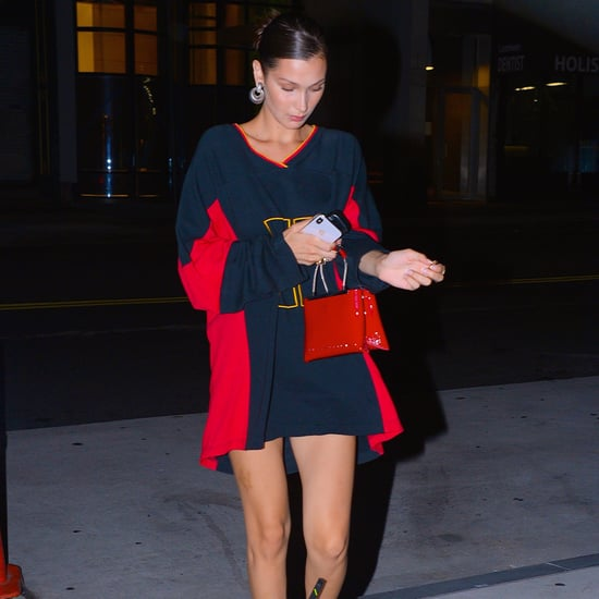 Bella Hadid's Tommy Hilfiger Jersey Dress