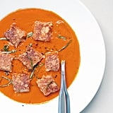 Tomato Soup and Grilled Cheese Croutons
