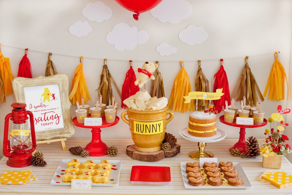 pretty winnie the pooh baby shower ideas  popsugar moms, Baby shower invitation
