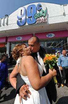 99 Cents Only Store Weddings