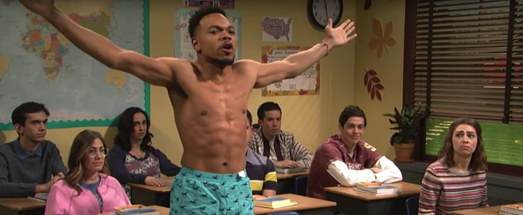 Chance the Rapper #Blessed Us All With This Shirtless Skit on SNL