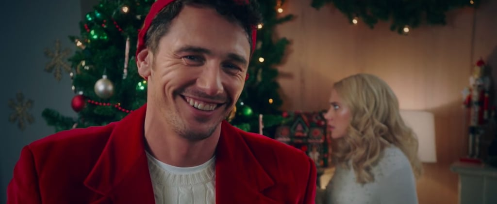 James Franco Plays Hot Santa in This Painfully Accurate Hallmark Parody