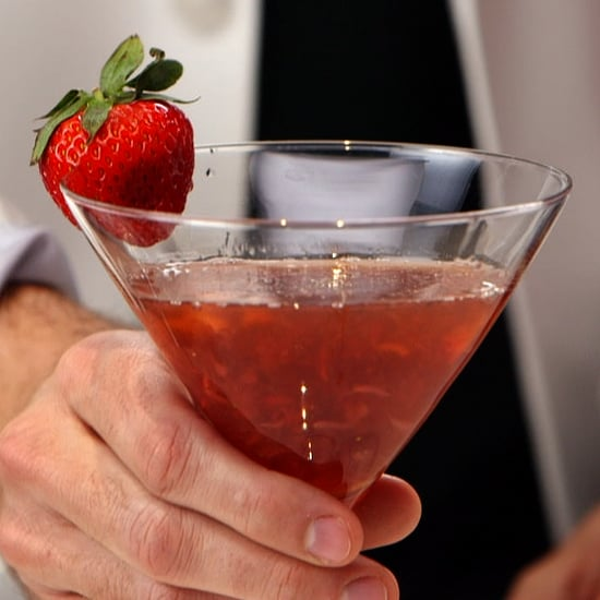 Strawberry Balsamic Cocktail