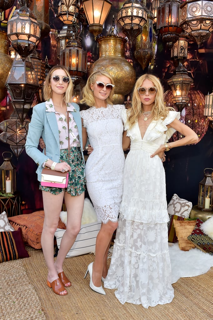 Whitney Port, Paris Hilton, and Rachel Zoe