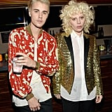 Pictured: Lady Gaga and Justin Bieber