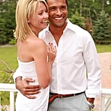 Kelly and Mark looked picture-perfect during their Southampton outing in July 2006.