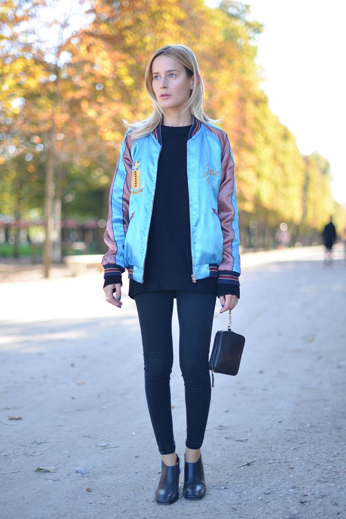 Pair Subtle Leggings With Something Colorful