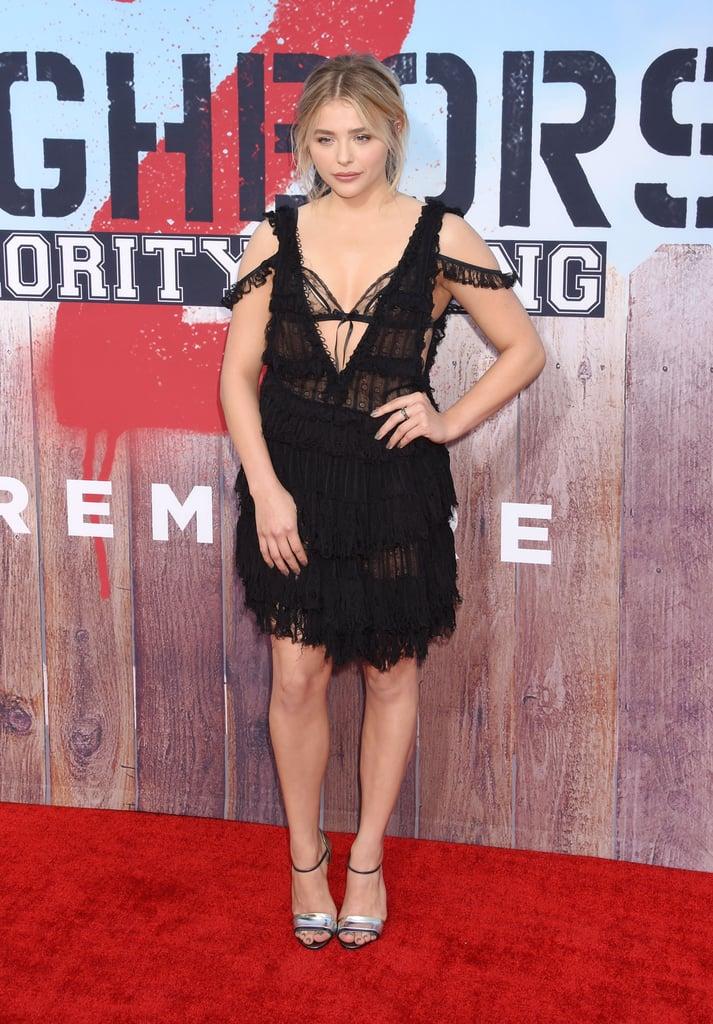 Chloe Grace Moretz Brooklyn Beckham On Red Carpet May 2016
