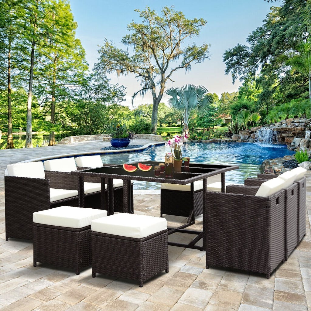 Costway 11-Piece Outdoor Patio Dining Set