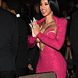 Cardi B at Clive Davis's 2020 Pre-Grammy Gala in LA