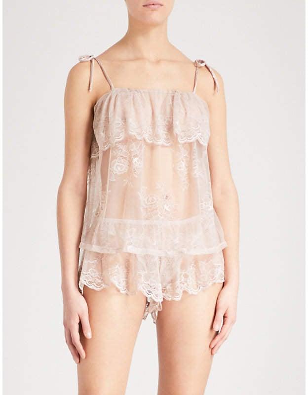 Eberjey Aurora Lace Pyjamas