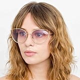 Linda Farrow 668 C9 Cat Eye Sunglasses