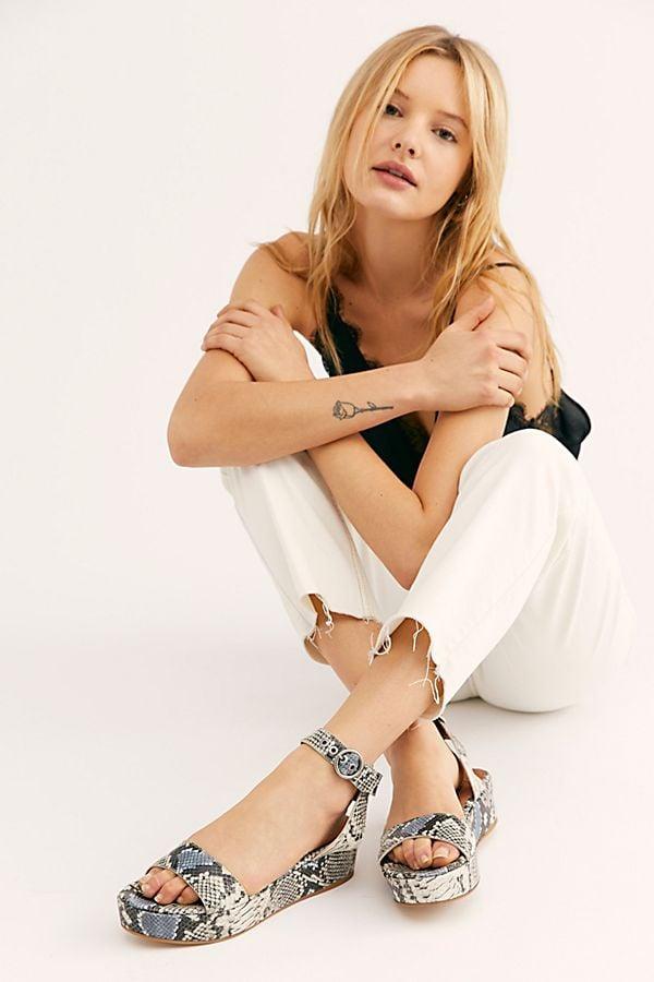 FP Collection Paris Flatform Sandals