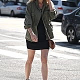 Diane Kruger pulled off her quintessential dressed-down cool while running errands.