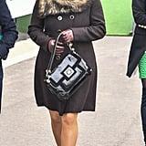 Zara's a Fan of Luxe Materials
