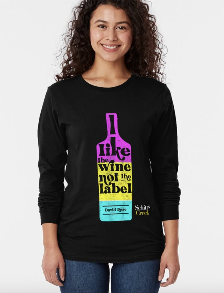 I Like the Wine Not the Label Shirt
