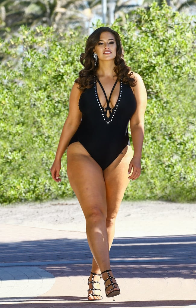 Ashley Graham x Swimsuits For All Flapper Swimsuit