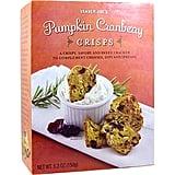 Pumpkin Cranberry Crisps ($4)