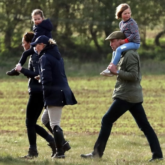 William and Kate With George and Charlotte at Horse Trials