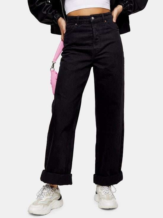 Topshop Oversized Mom Jeans